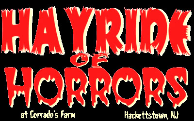 haunted hayrides in NJ